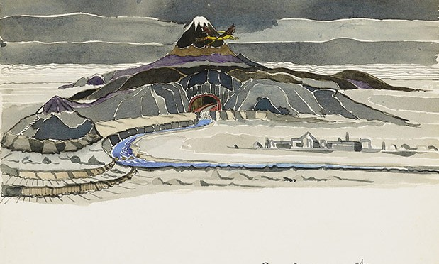 """J.R.R. Tolkien's Little-Known Original Drawings for the First Edition of """"The Hobbit"""""""